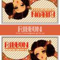 マッチラベルデザイン 「RIBBONシリーズ(オレンジ)」